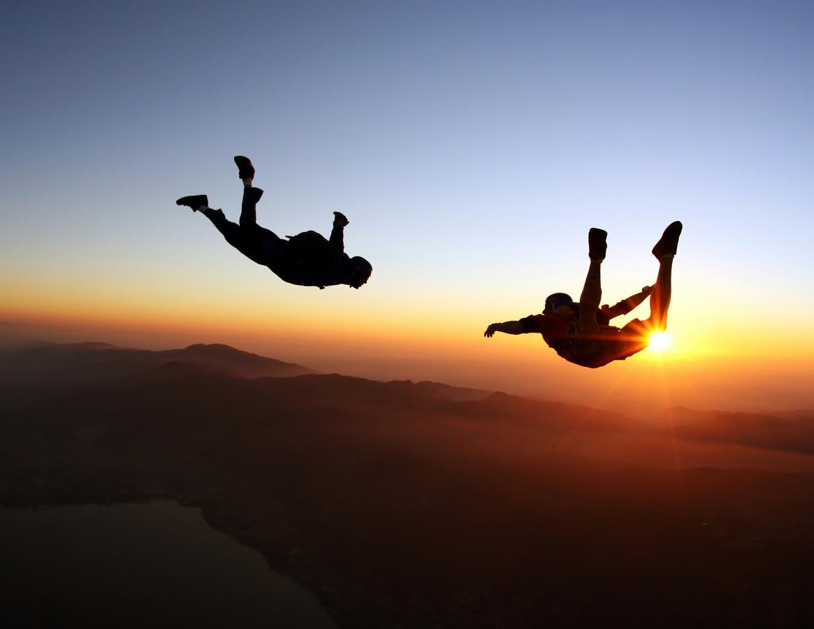 quel est le meilleur moment pour le parachutisme