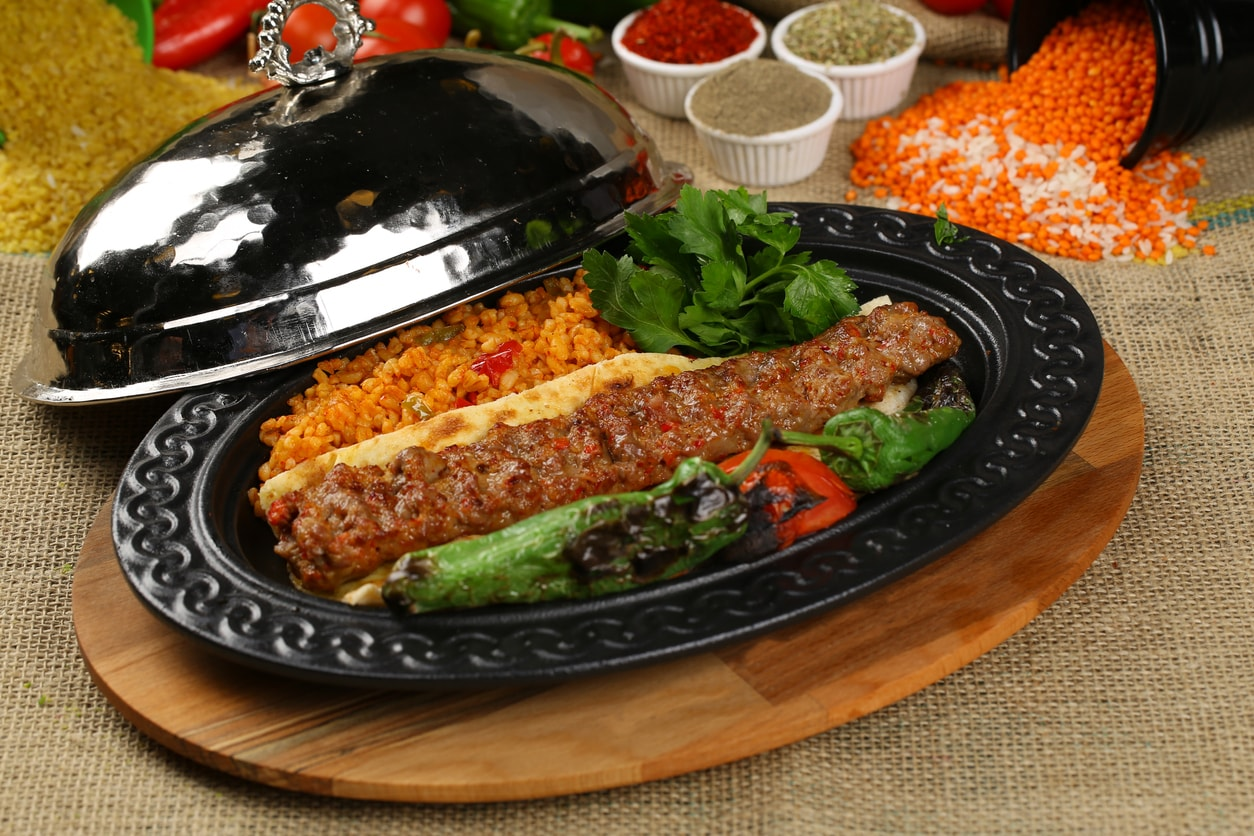 Turkish kebap