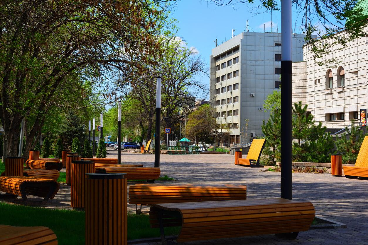 Almatı şehir içi ulaşım