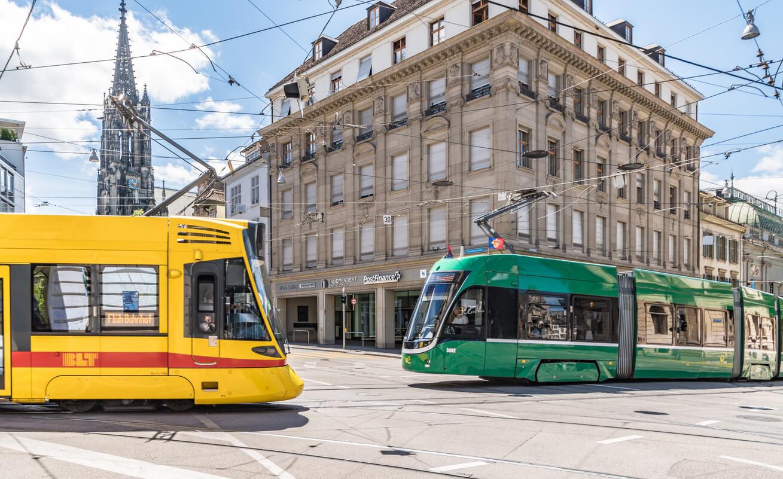 Basel tramvay hattı