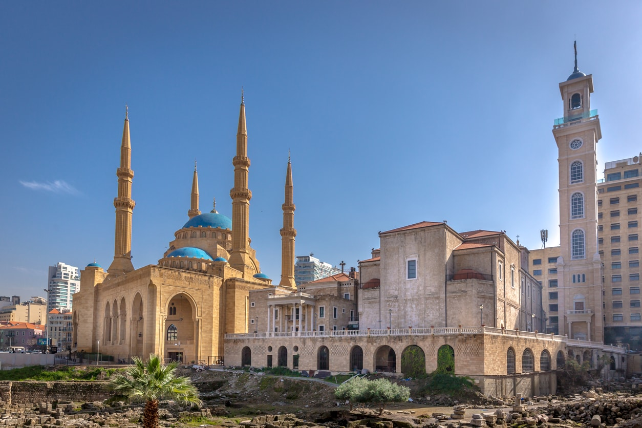 Beyrut cami ve kilise