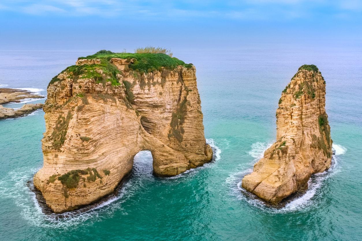 Beyrut Güvercin Kayalıkları