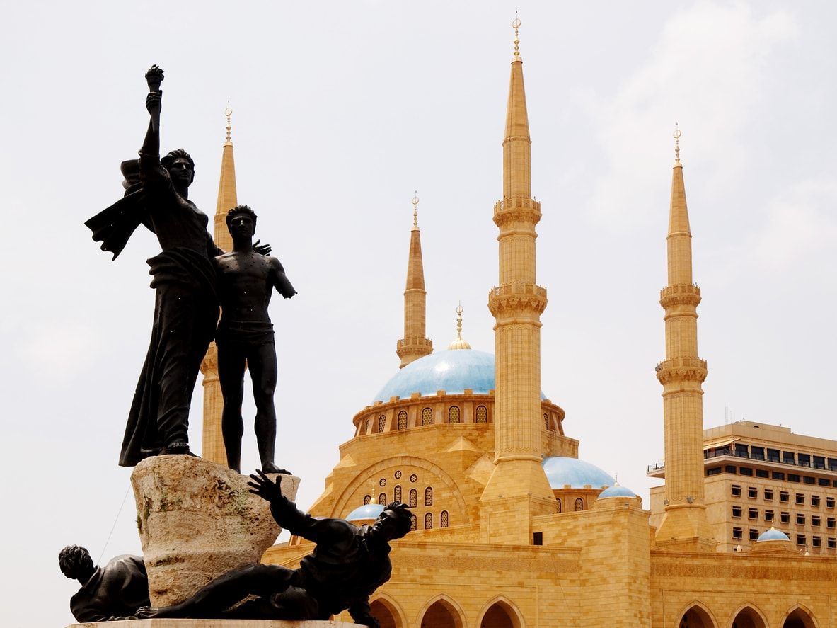 Beyrut Al Omari Camii