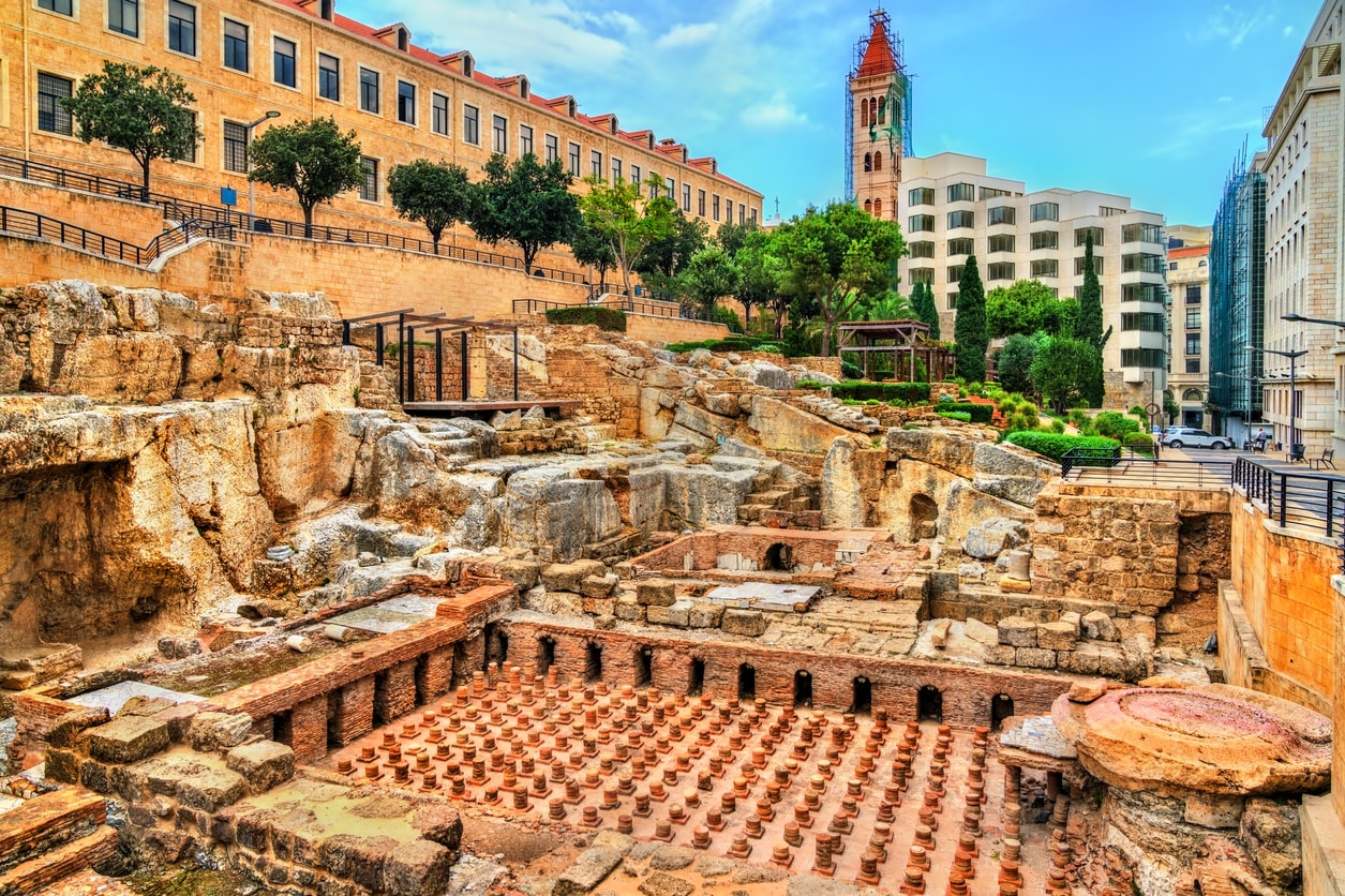 Beyrut roman hamamları