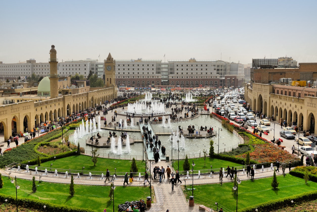 Erbil şehir parkı