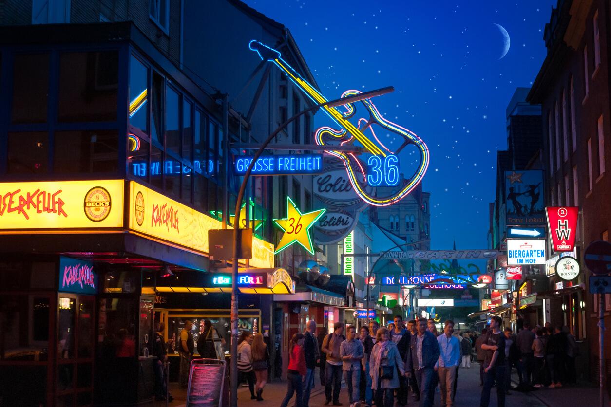 Hamburg gece hayatı