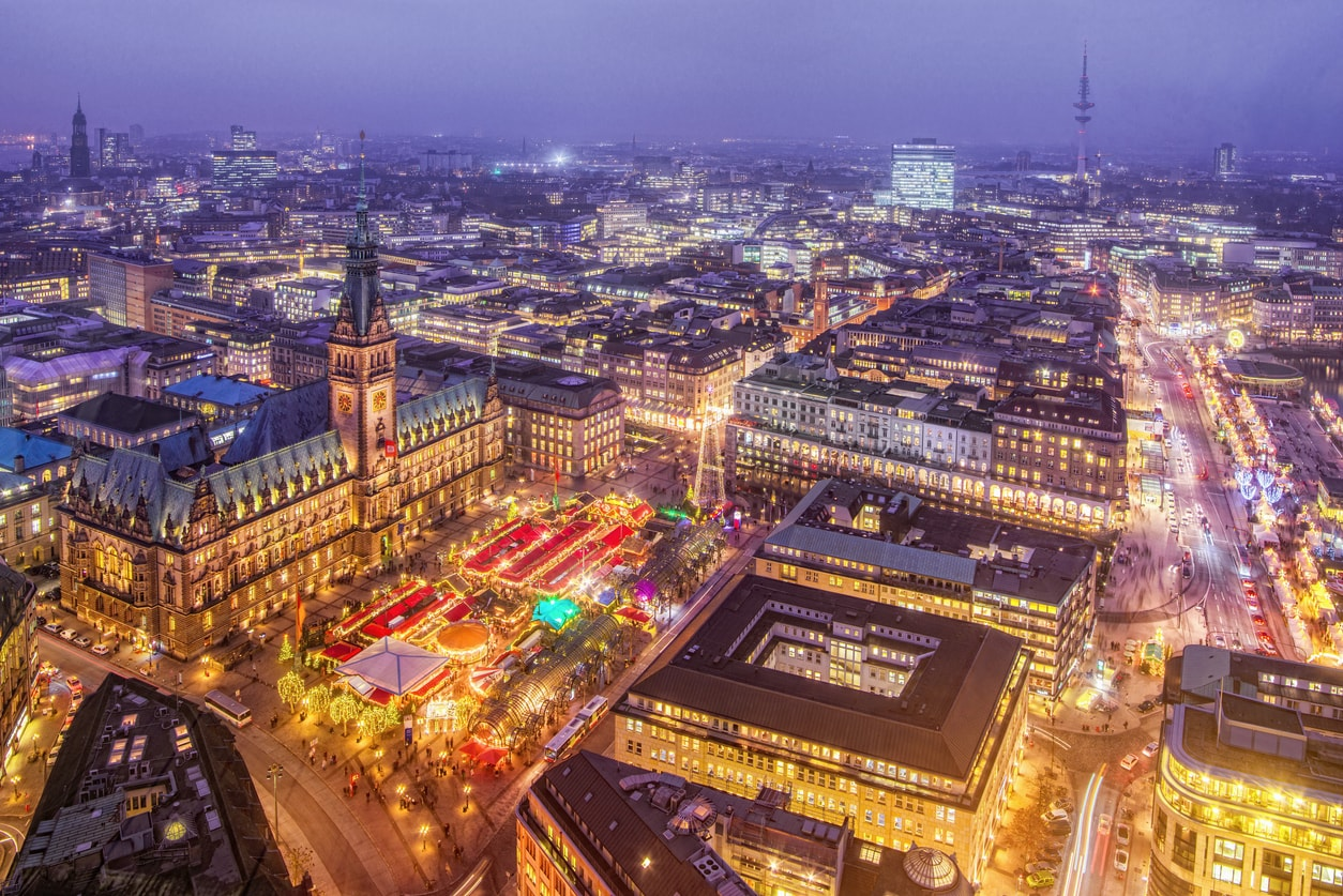 Hamburg alışveriş