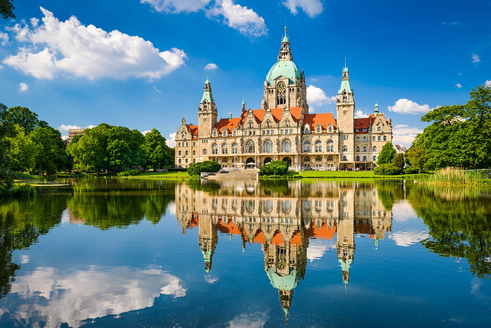 Hannover yeni belediye binası