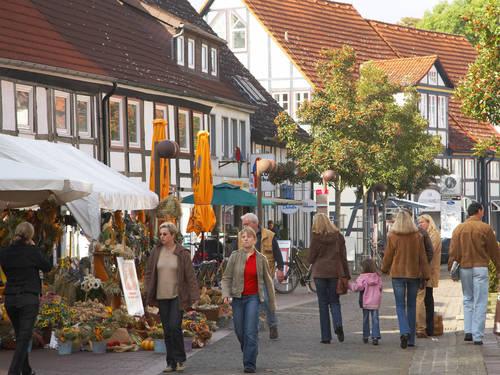 Hannoverde alışveriş
