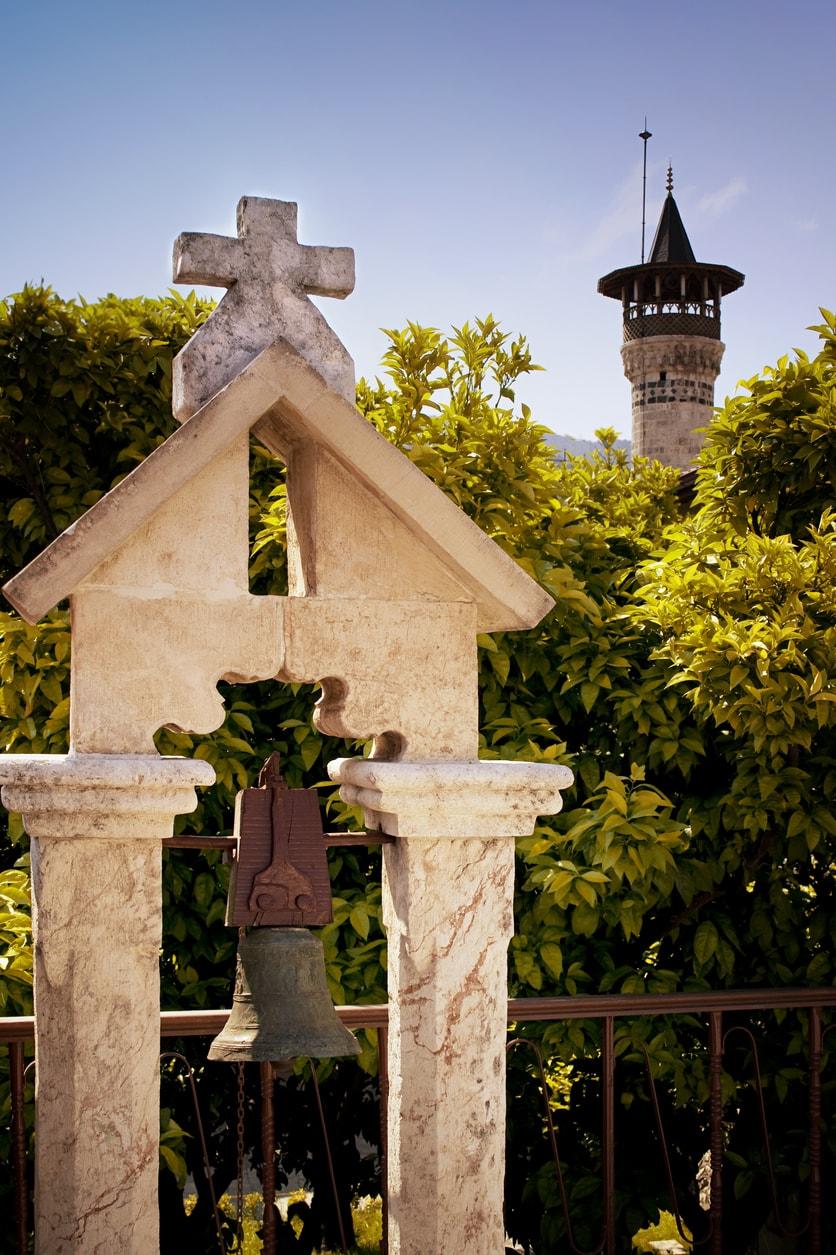 Hatay kültür mozaiği cami ve kilise