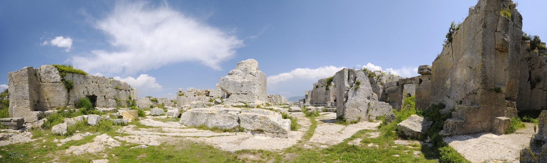Hatay aziz simeon manastırı