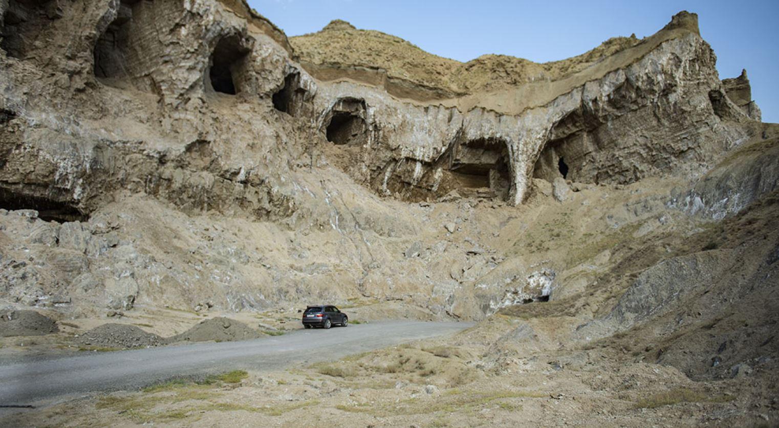 Tuzluca salt caves Igdir