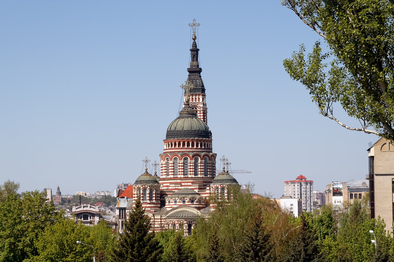 kharkiv annunciation kilisesi nerede kalınır?