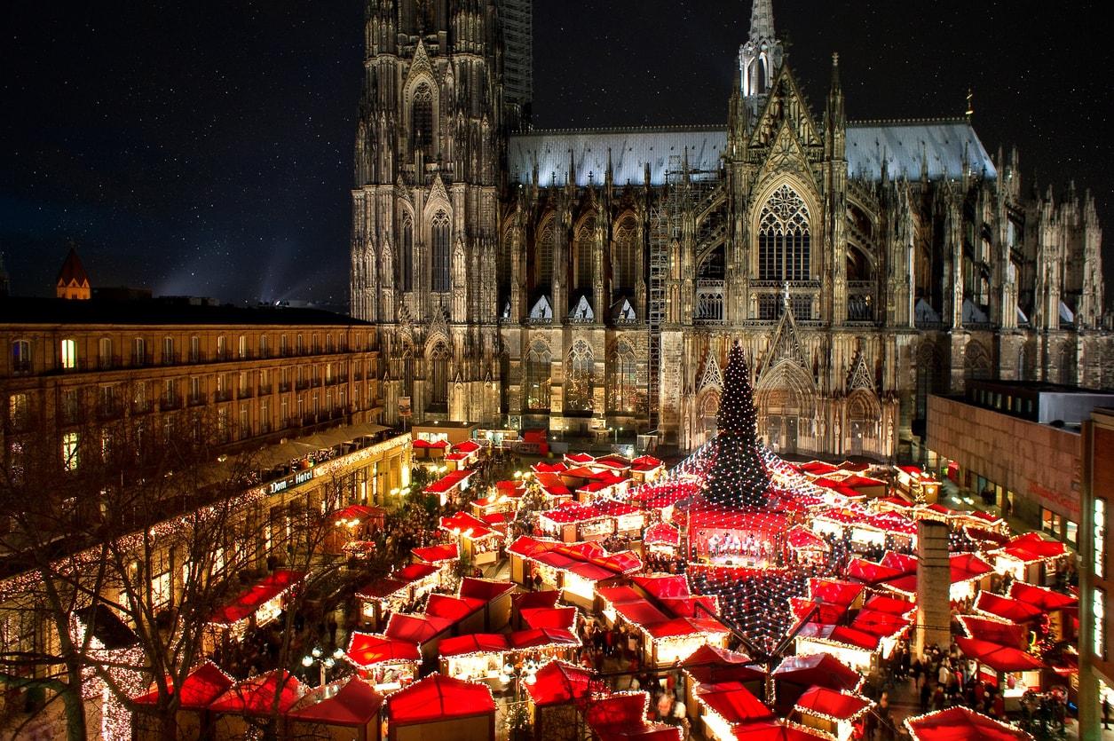 Köln christmas alışverişi