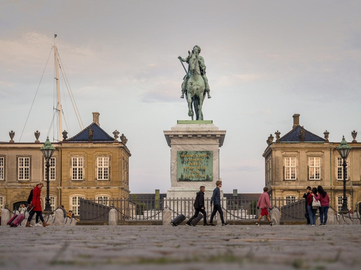 Kopenhag Amelienborg
