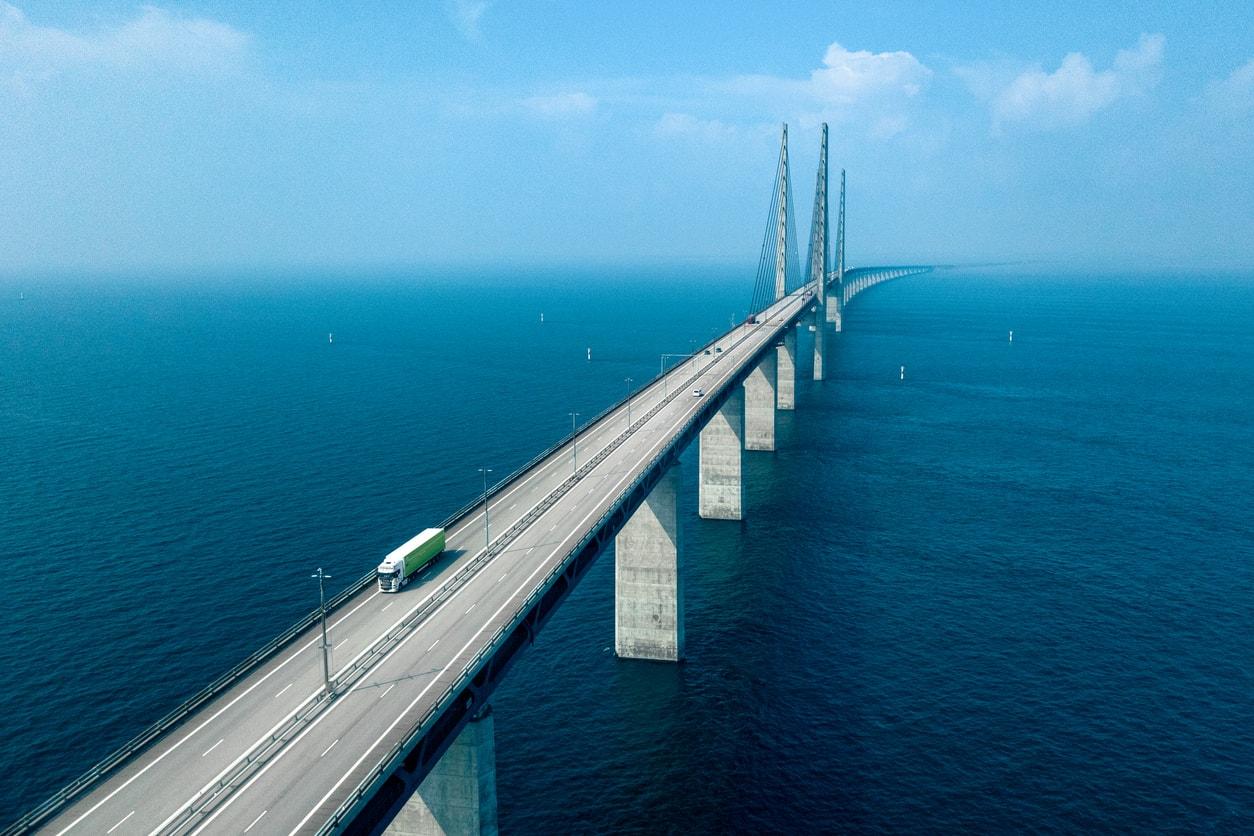 Kopenhag Oresund Köprüsü