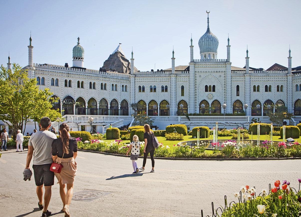 Kopenhag Tivoli Bahçeleri