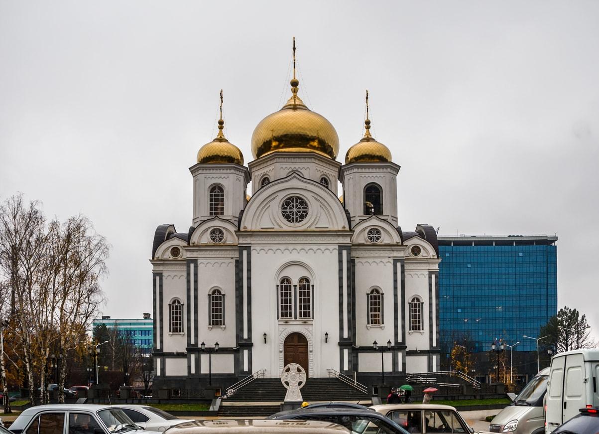 Krasnodar Alexander Nevsky Katedrali