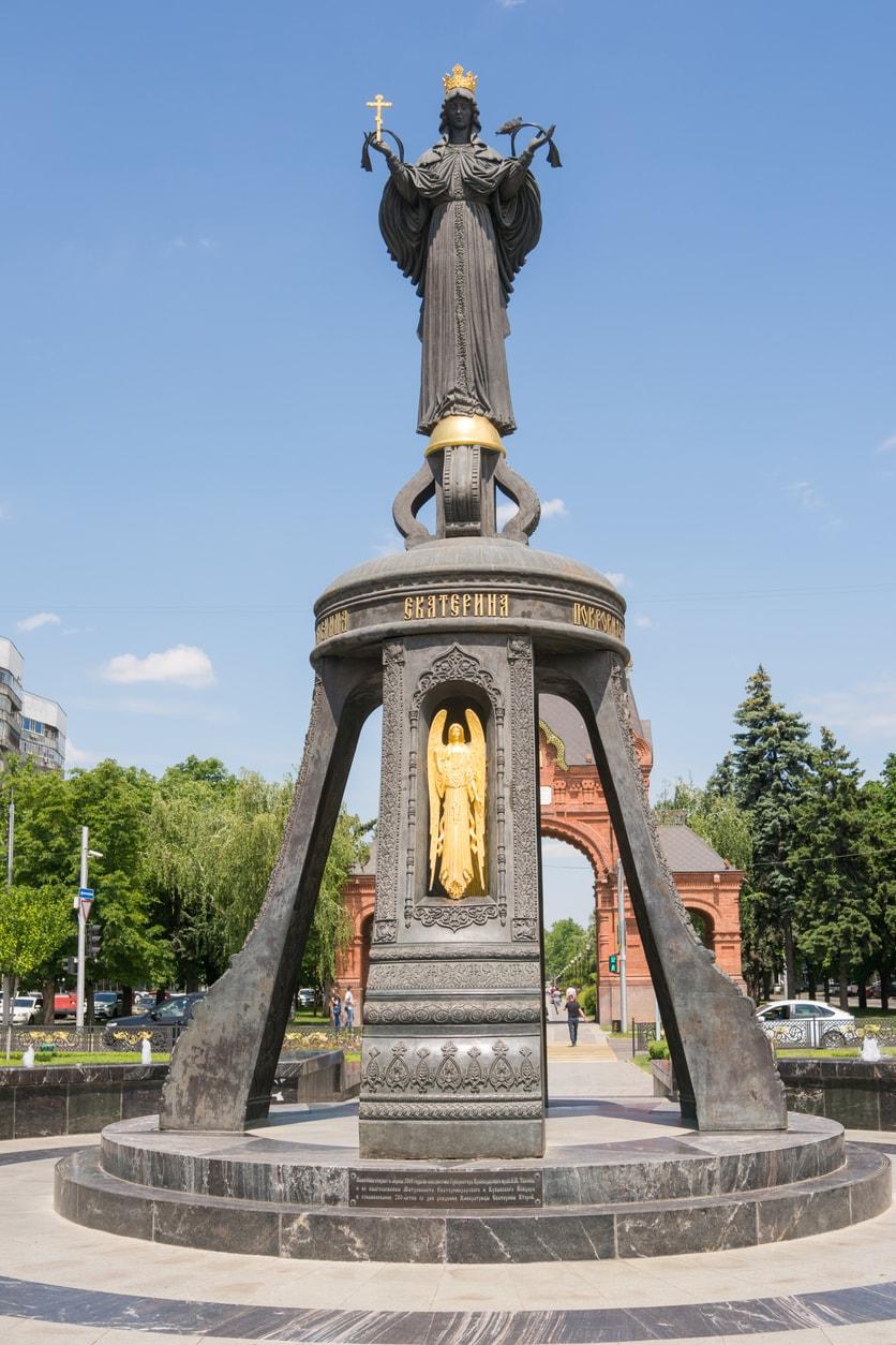 Krasnodar Büyük Katerina Anıtı