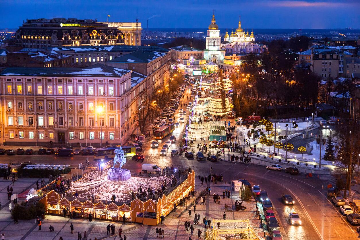 kyiv'de alışveriş
