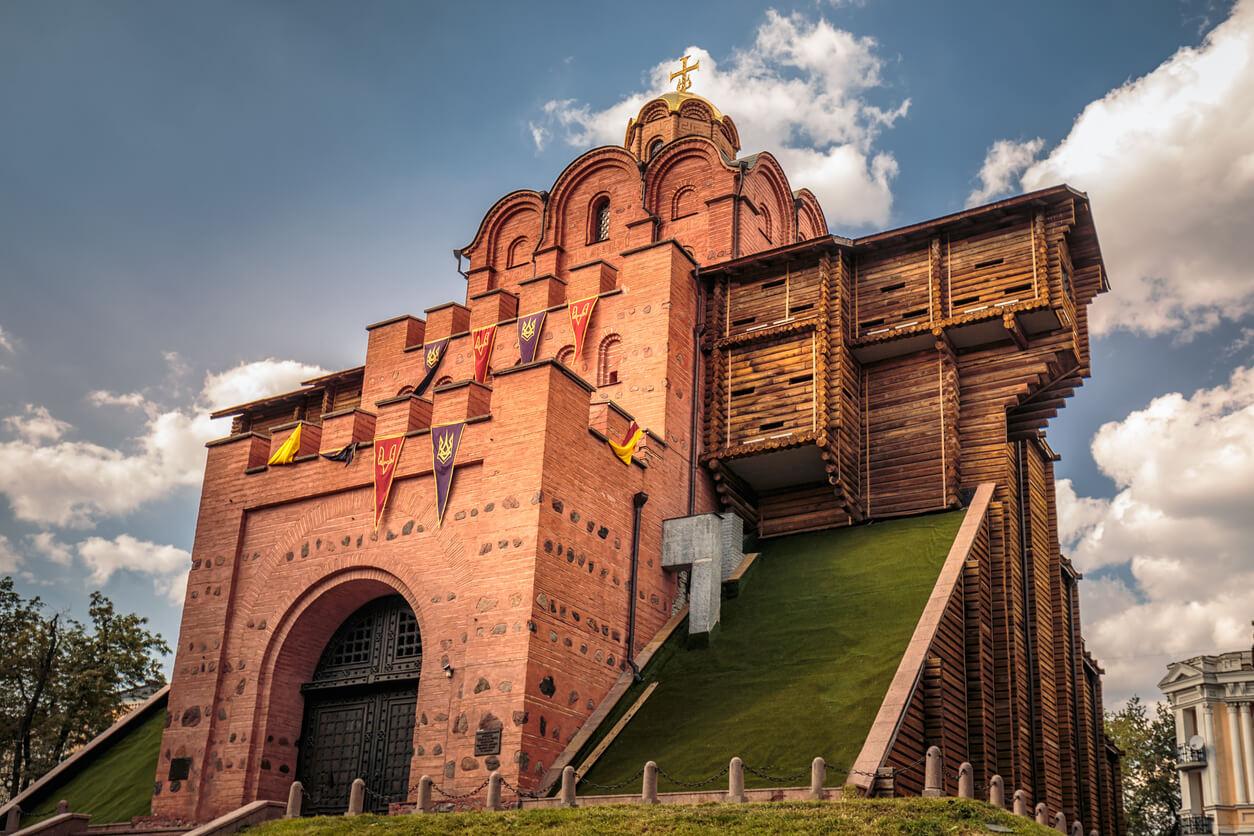 kyiv altın kapıları