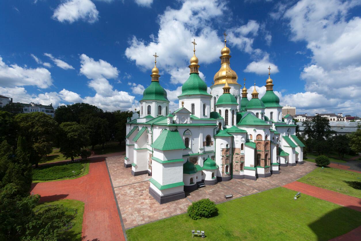 kyiv aziz sofya katedrali