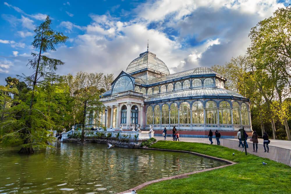 Madrid Retiro Parkı