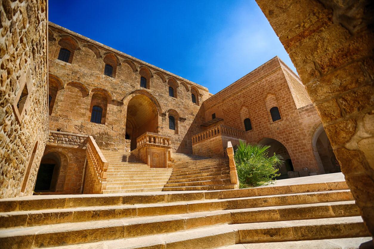 Mardin mor gabriel manastırı