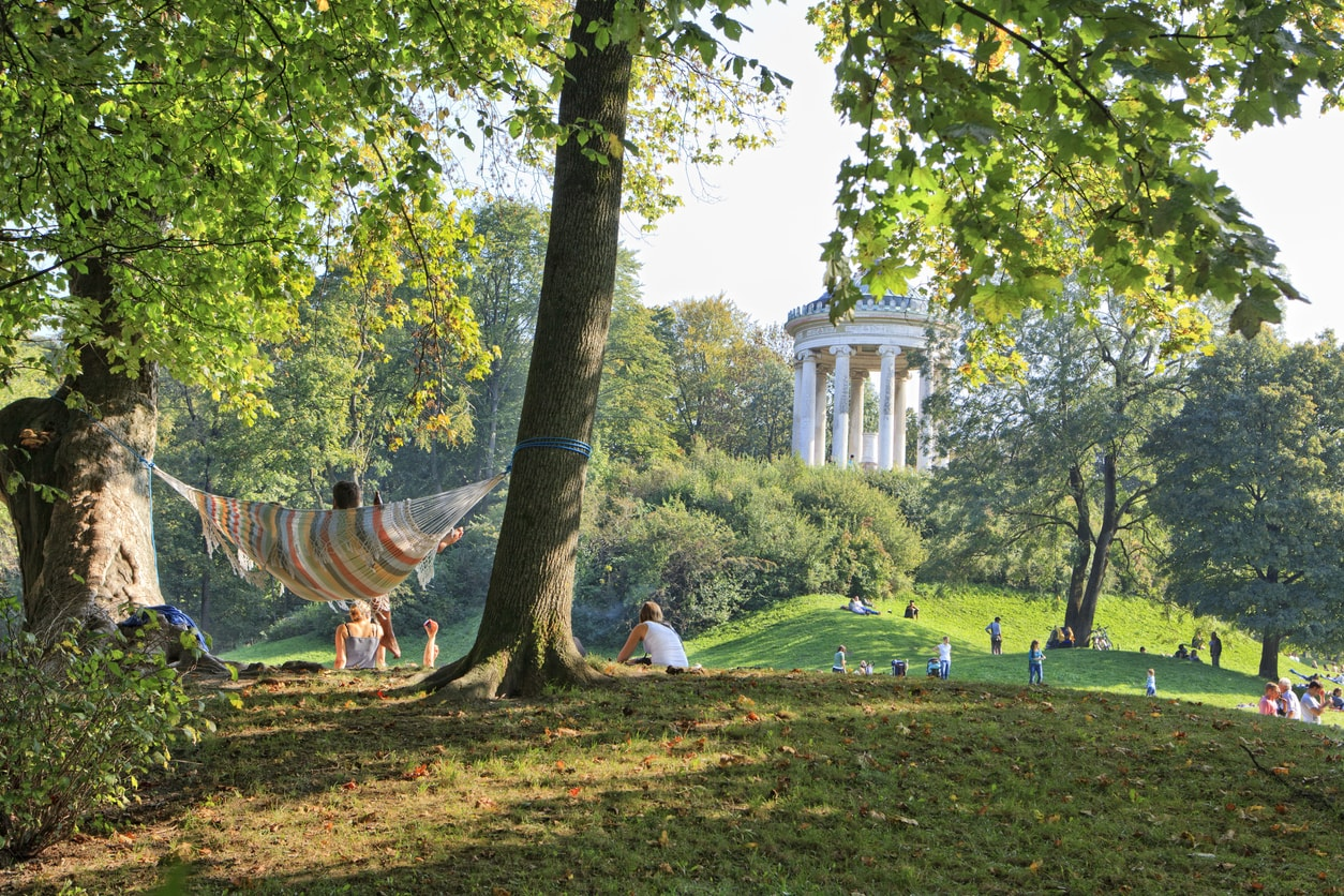 Münih İngiliz Bahçesi