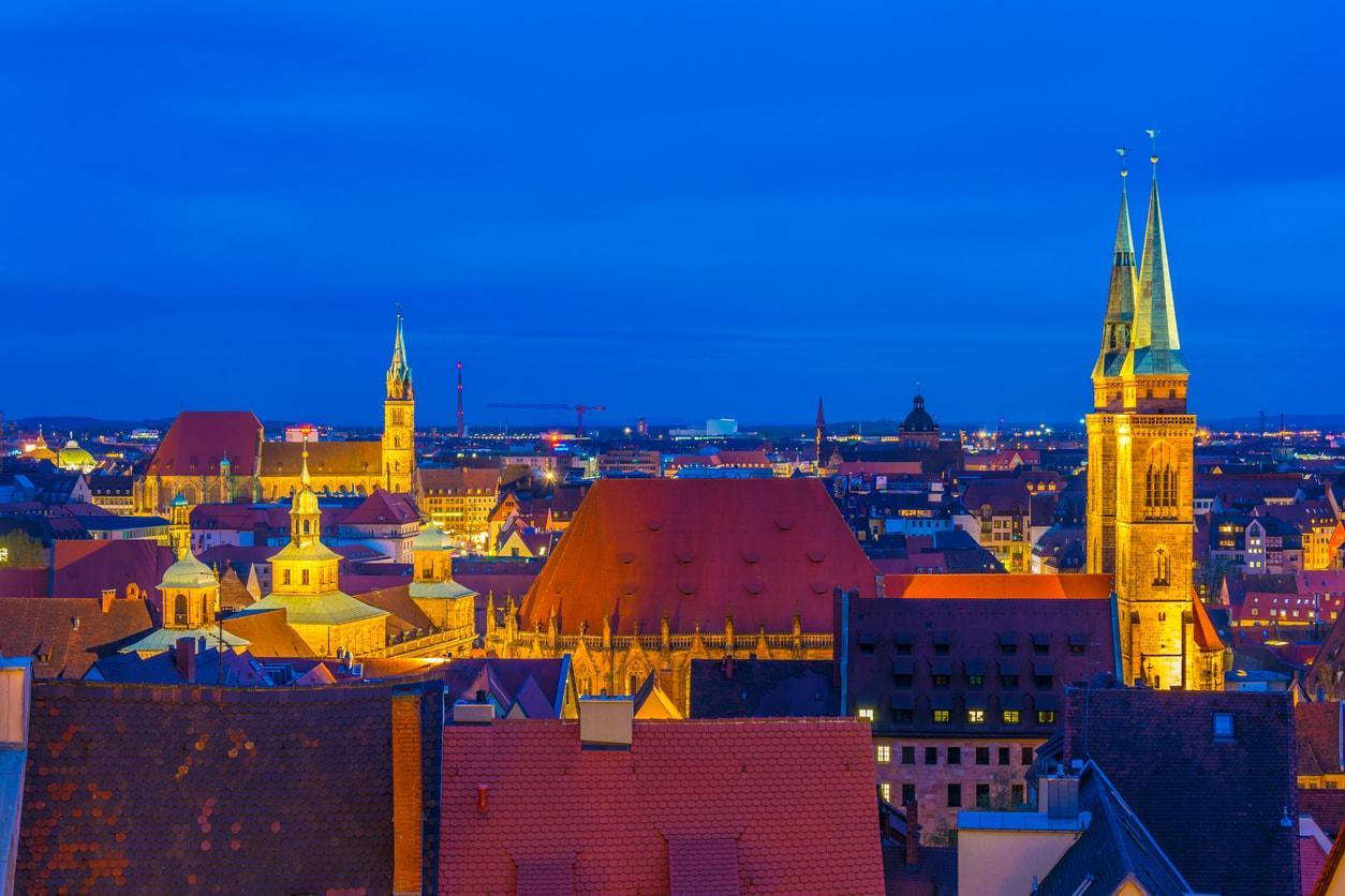 Nürnberg gece