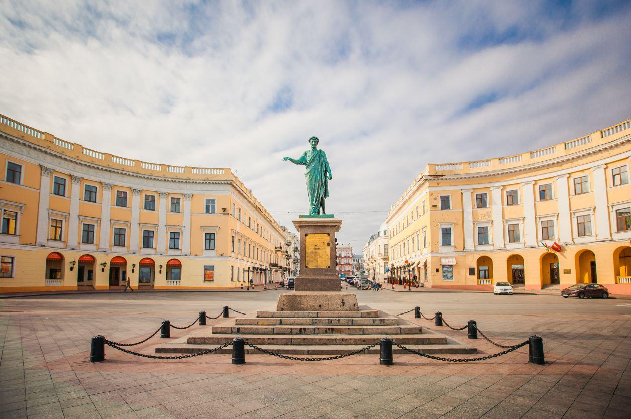Pymorsky Boulevard Odessa