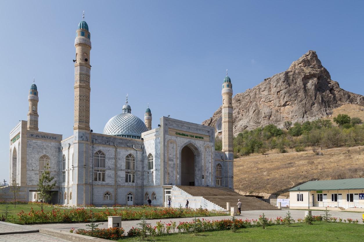 Osh süleyman dağı ve cami