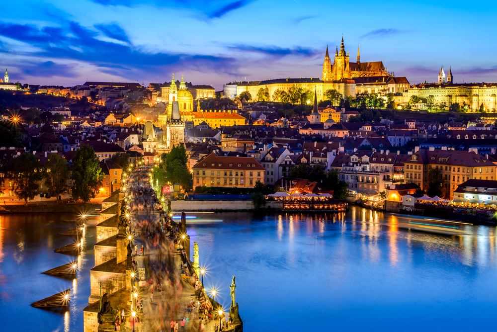 Nightlife in Prague
