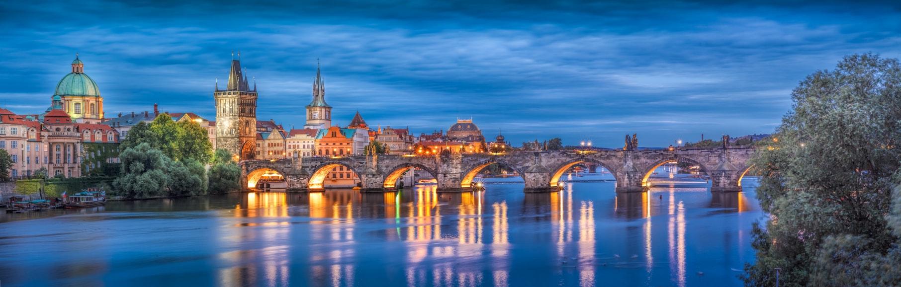Prag ulaşım charles köprüsü