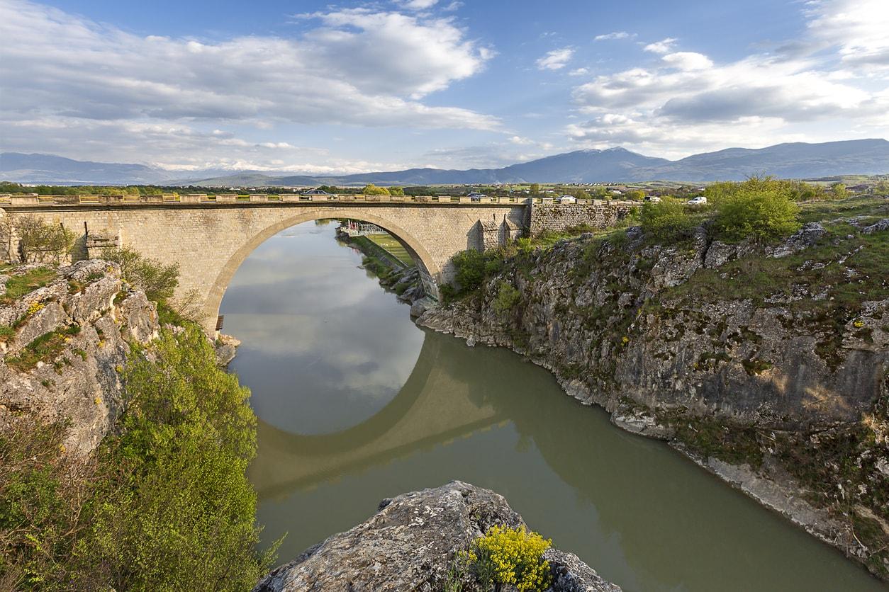 Pristine eski köprü