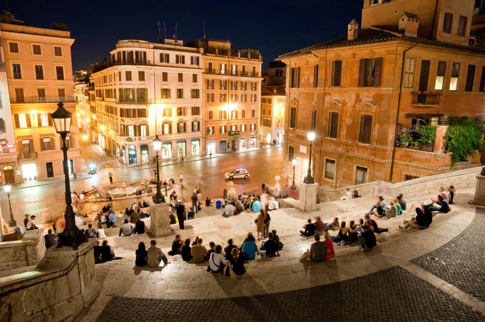 Romada gece hayatı eğlence