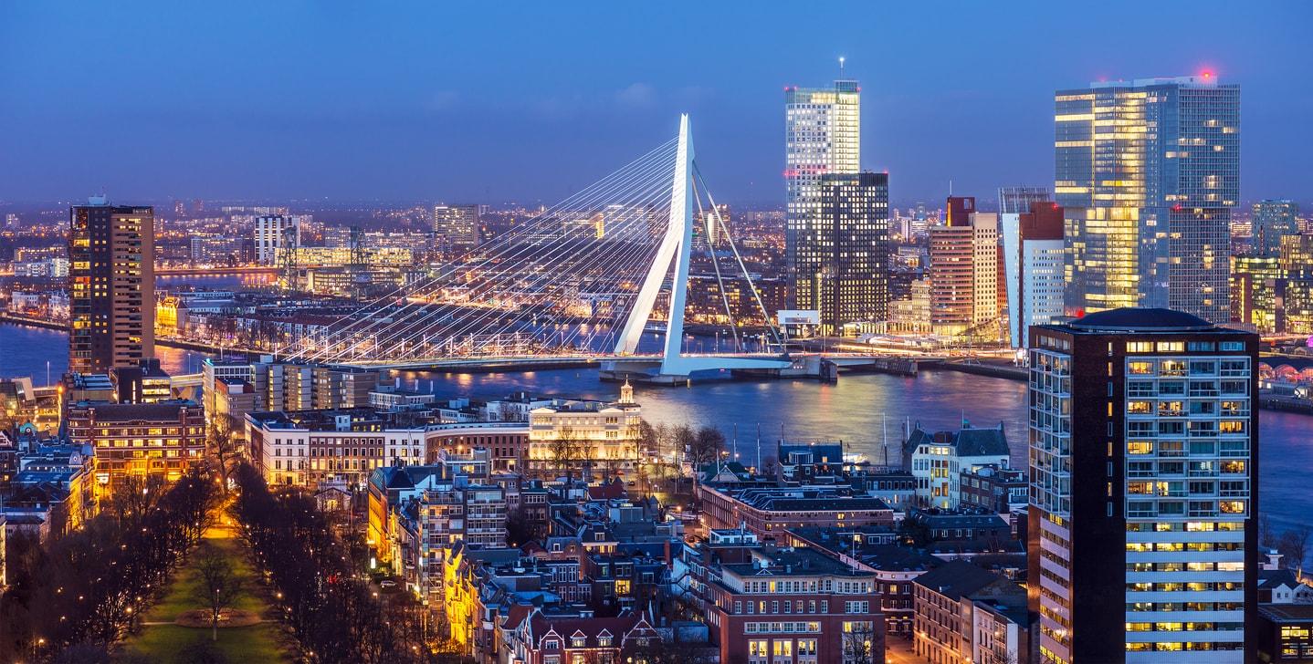 Rotterdam erasmus köprüsü