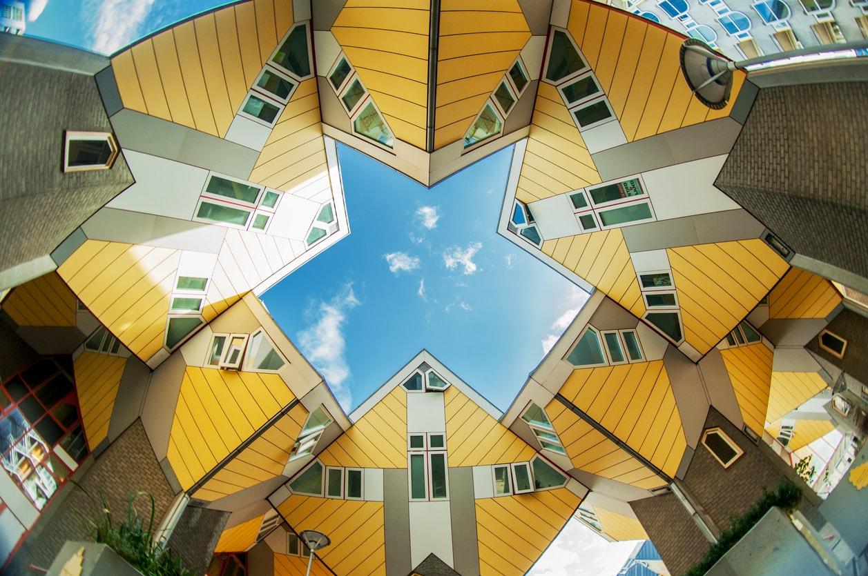 Rotterdam kübik evler