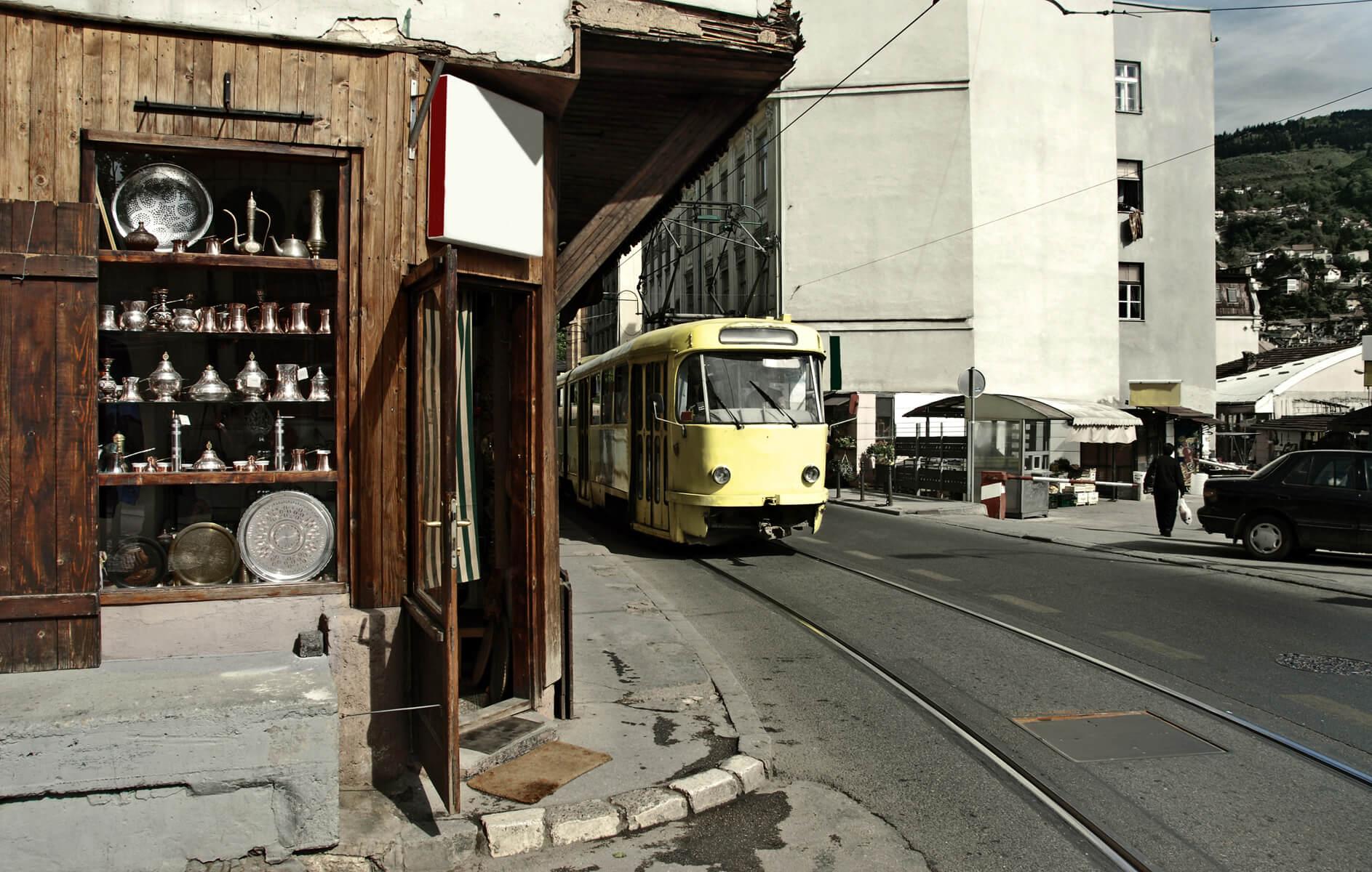 Saraybosna şehir içi ulaşım