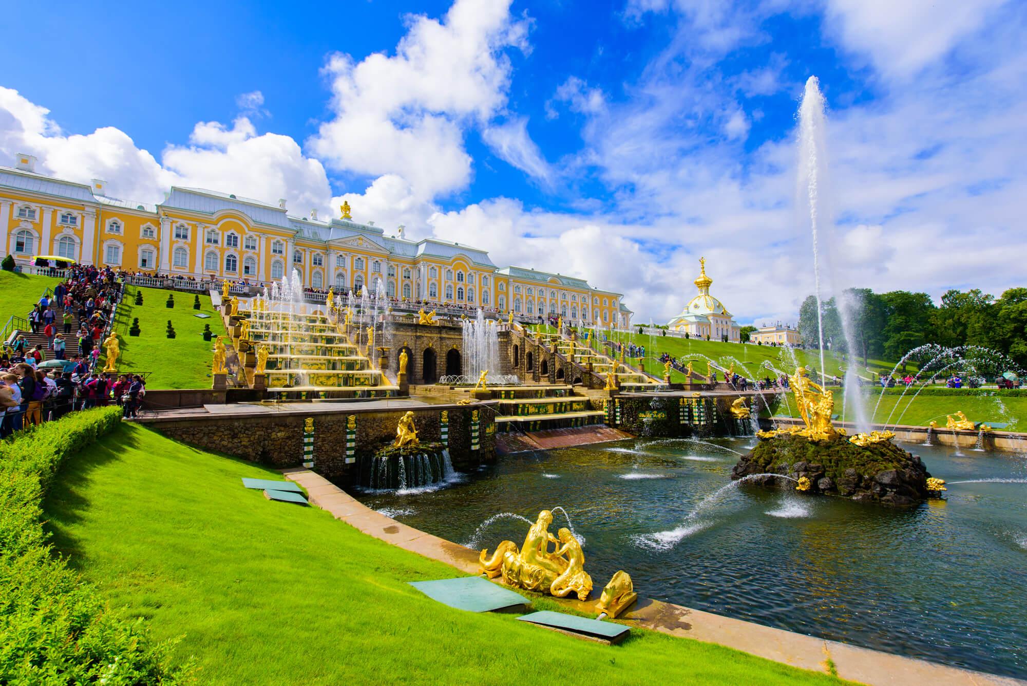 Peterhof Palace St. Petersburg