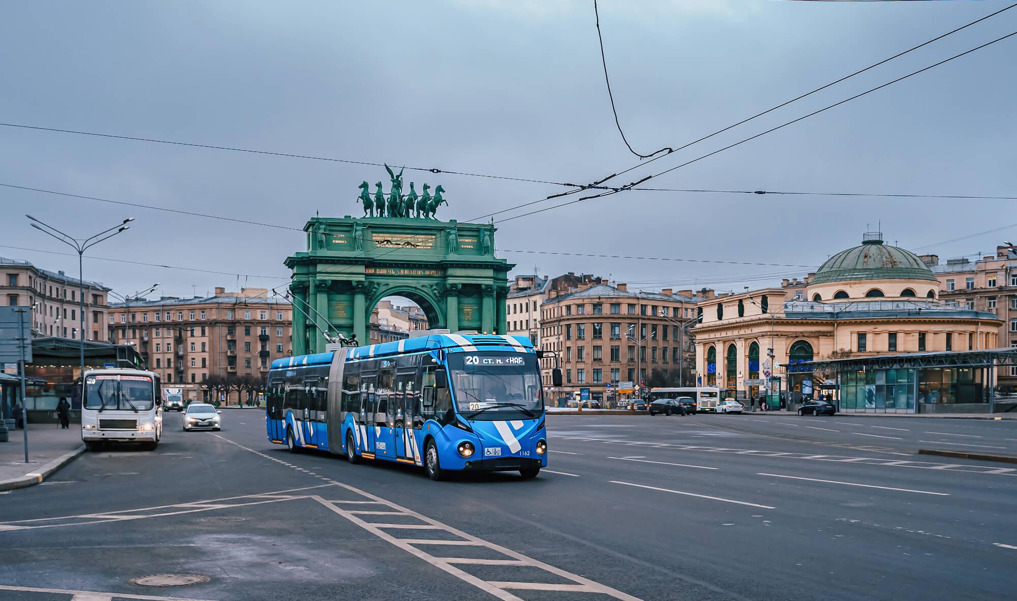 public transport in St. Petersburg