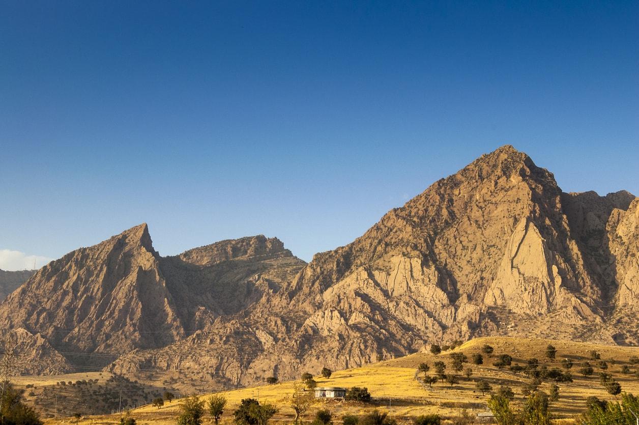 Süleymaniye zagros dağı