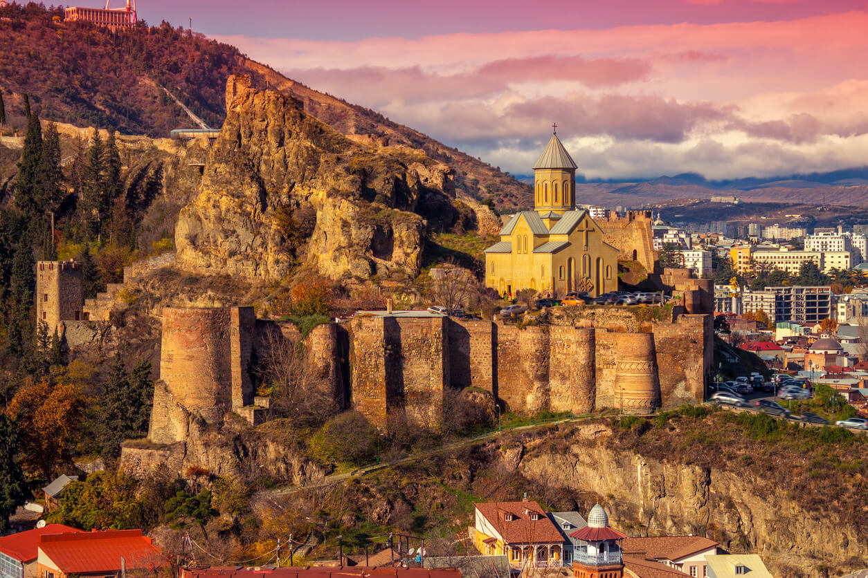 Tiflis Narikala Hisarı