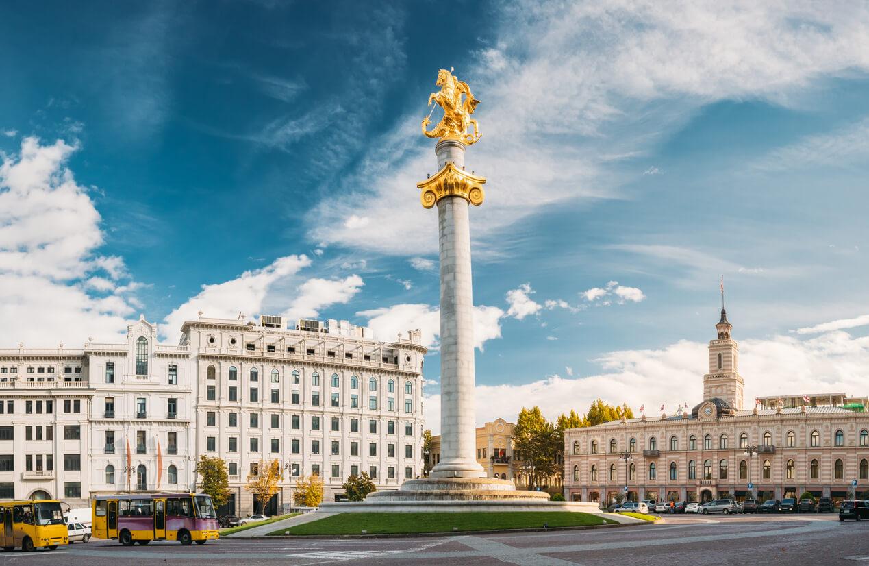 Tiflis Özgürlük Meydanı