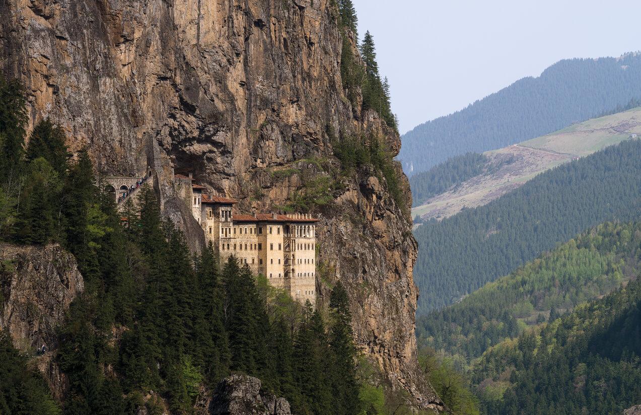 sümela manastrı