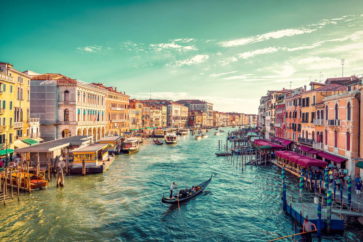 Venedik Grand Kanal