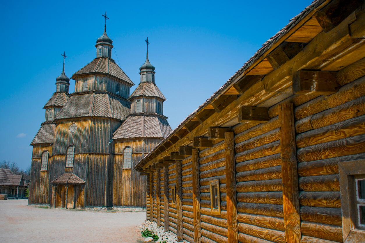 Zaporizhia old town