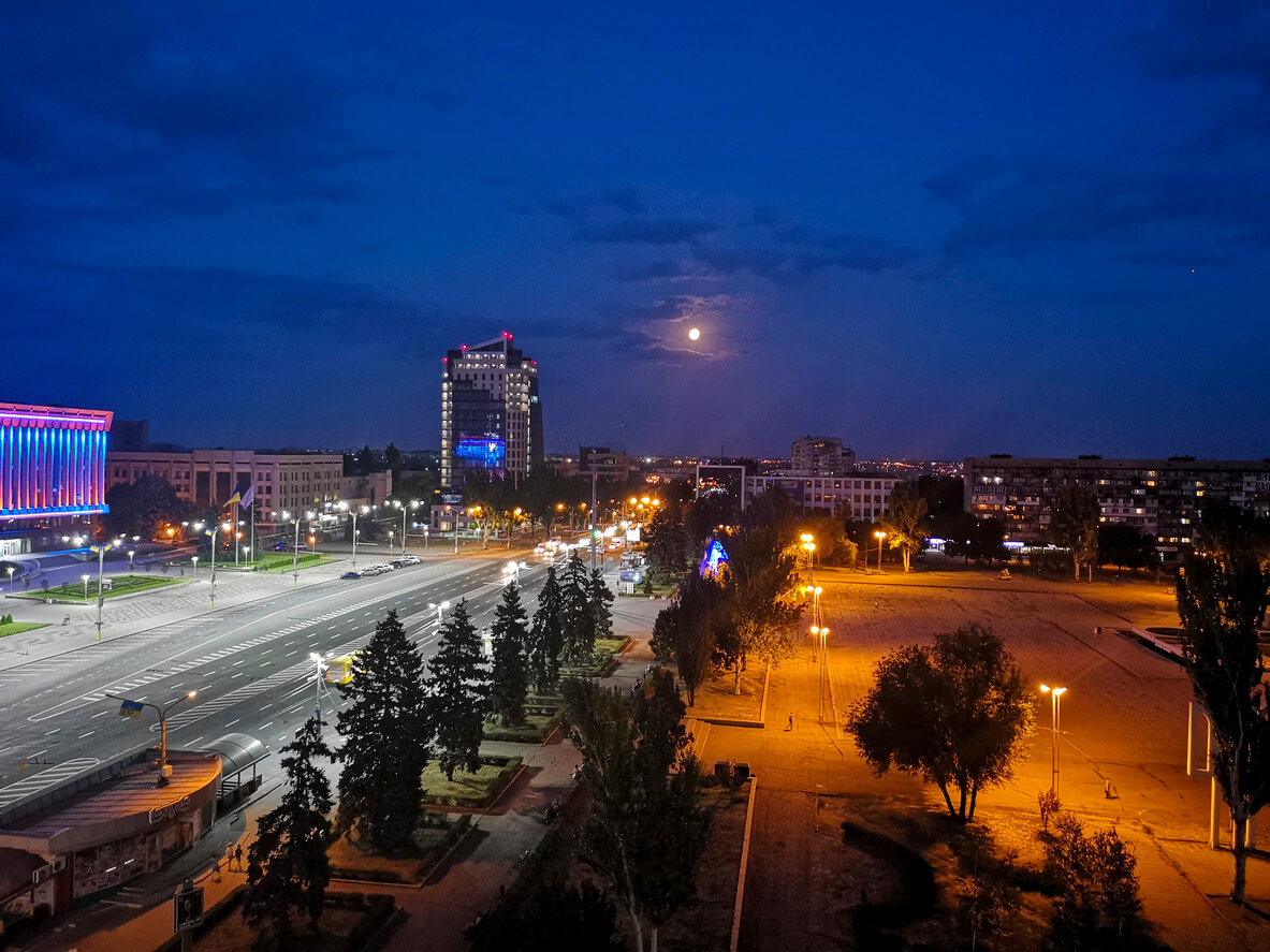 night lifein Zaporizhia