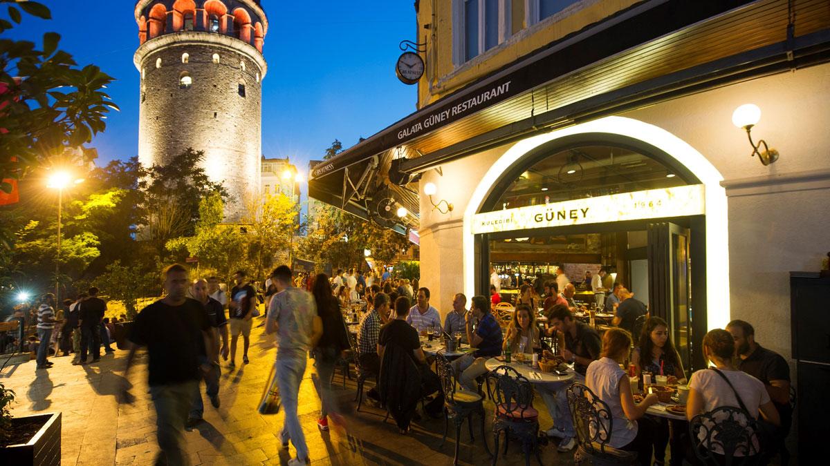 Güney Restoran - Galata Kulesi
