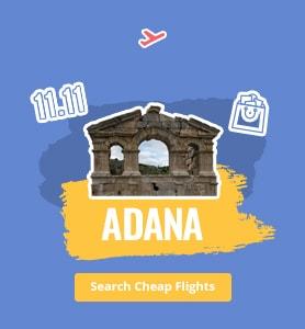 flights to Adana